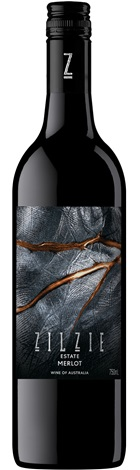 Zilzie Estate Merlot 750mL