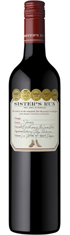 Sisters Run Shiraz 750ml