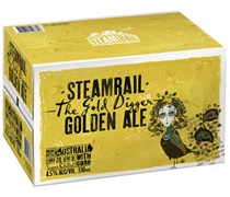 Steamrail Golden Ale Bottle 330mL