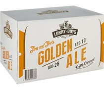 Lorry Boys Golden Ale Bottle 330mL
