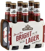 Lorry Boys Bright Lager Bottle 330mL