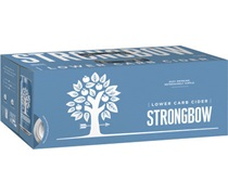 Strongbow Lower Carb (10pack) Apple Cider Can 375mL