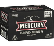 Mercury Hard Cider Bottles 355mL