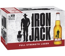 Iron Jack Red Bottle 330mL