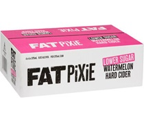 Fat Pixie Low Sugar Watermelon Cider Can 375mL