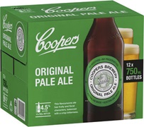 Coopers Original Pale Ale Bottle 750mL
