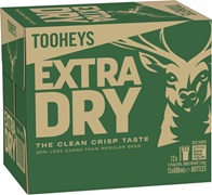 Tooheys Extra Dry Bottle 696mL