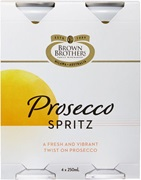 Brown Brothers Prosecco (4 Pack) Spritz Can 250mL