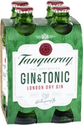 Tanqueray & Tonic Bottle 275mL (4 Pack)