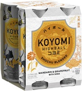 Koyomi Highball 4 Pack Mandarin & Grapefruit 250mL