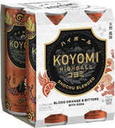 Koyomi Highball 4 Pack Blood Orange & Bitters 250mL