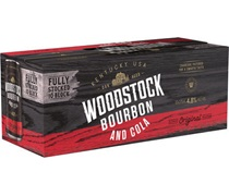 Woodstock  (10Pack) Bourbon & Cola 4.8% Can 375mL