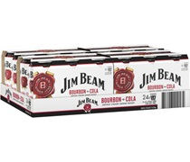 Jim Beam White & Cola Can 375mL