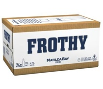 Frothy Bottle 375mL